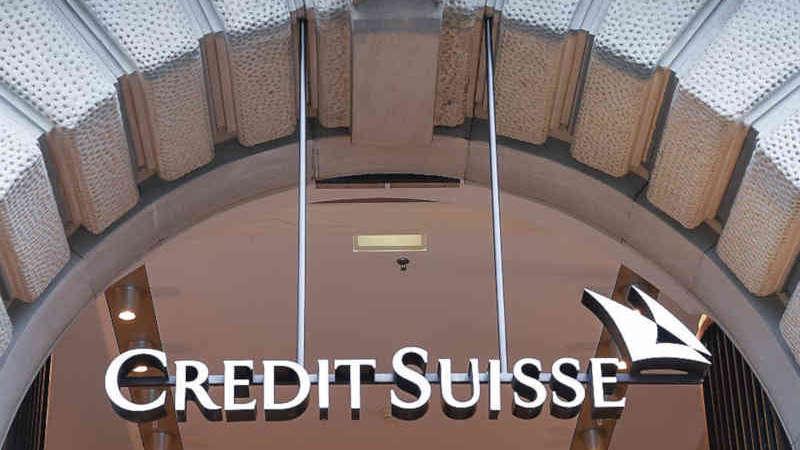 Credit Suisse applica tassi negativi dai 2 milioni di liquidità