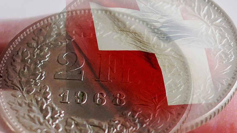 Il cambio franco svizzero euro storico