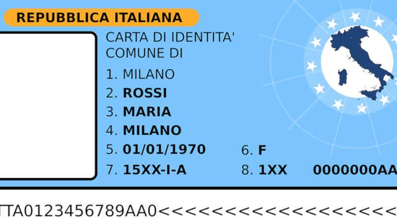 Carta d'identità italiana in Svizzera