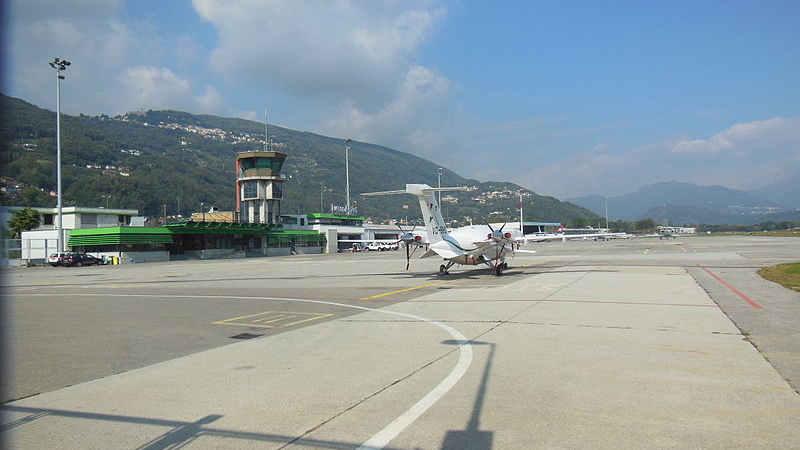 Al voto per l'aeroporto di Agno