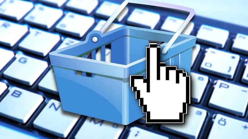 Aumento delle vendite tramite e commerce